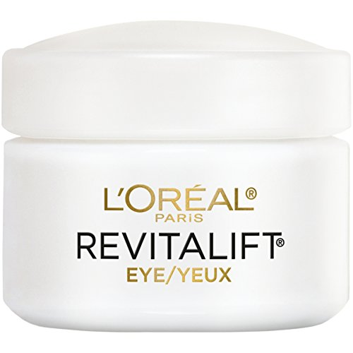 L'Oréal Paris Skincare Revitalift Anti-Wrinkle and Firming Eye Cream Treatment with Pro-Retinol, Fragrance Free, 0.5 oz.