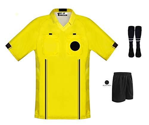 Soccer Referee Jersey Free Shorts & Socks