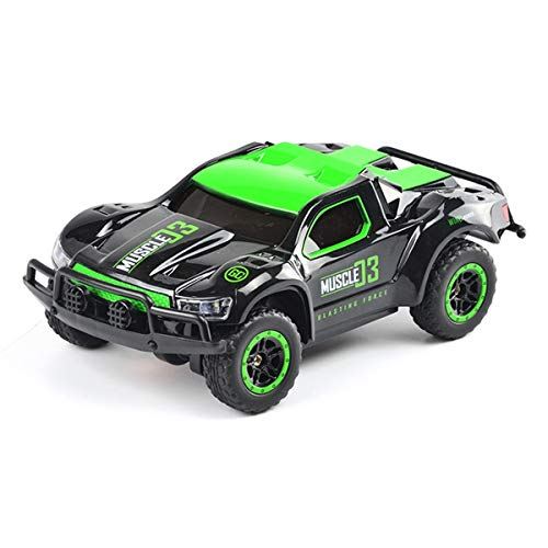 (Threeking 1:43 High Speed Truck Racing Car Drift Car 2.4Ghz 4WD Drift Power Slide Remote Control Cars Rechargeable Rc Cars)