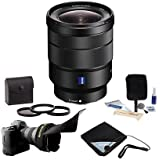 Sony Vario-Tessar TFE 16-35mm F4 ZA OSS WA Zoom Lens Bundle. Value Kit with Acc