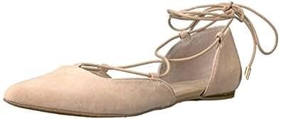 Calvin Klein Women's Haide Ballet Flat, Sandstorm, 6.5 M US
