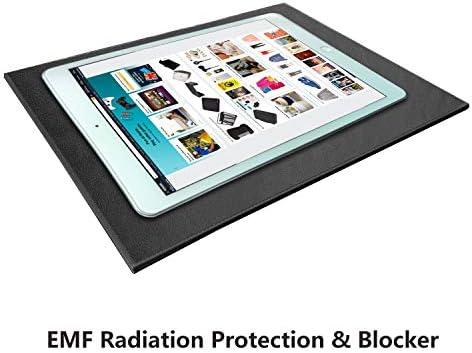 NGLVKE Laptop-Unterlage EMF Schutz vor Strahlung/Hitze, Strahlungsichere Laptop-Unterlage: Schützen Sie Sich von Computer & WiFi-Strahlung (20 * 30cm)