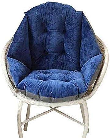 Cojín del asiento, silla de moda nido sentado Tejido a interior y exterior cojines de asiento para silla cojines almohadas funda para sofá sillones cojín de silla silla de jardín: Amazon.es: Hogar