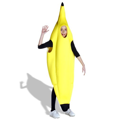 [Banana Child Costume] (Childrens Food Halloween Costumes)