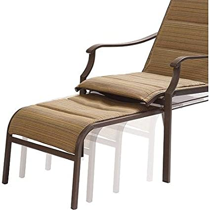 Groovy Amazon Com Mainstays Padded Sling Chair With Pull Out Ocoug Best Dining Table And Chair Ideas Images Ocougorg