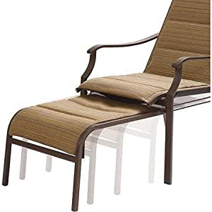 Amazon Com Mainstays Padded Sling Chair With Pull Out