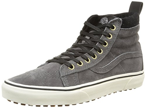 Vans Sk8-hi, Basses Mixte Adulte Gris (Mte/Pewter/Wool)