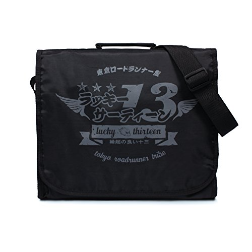 Japanese Tokyo Roadrunner LP Record Bag - Vintage Retro Style DJ Vinyl Records Messenger Shoulder Bag Japan (One - Shoulder Record Dj