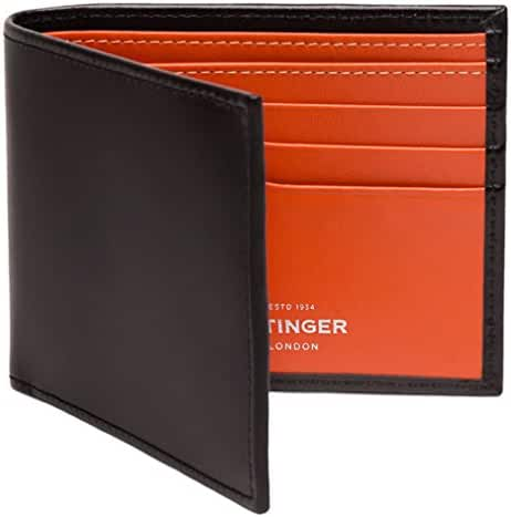 Ettinger Men's Sterling Billfold Wallet with 6 Credit Card Slips
