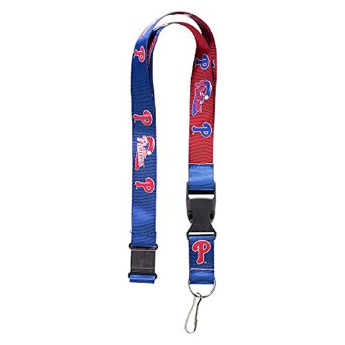 aminco MLB Philadelphia Phillies Team ColorLanyard Reversible, Team Colors, One ()