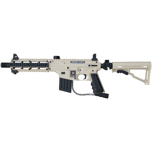 US Army Project Salvo .68-Caliber Paintball Marker, Tan (Project Salvo Paintball Guns)