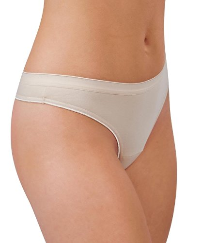 Knock out! Women's Cotton Thong Large Nude
