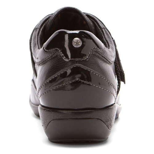 Aetrex Womens Essence Diane Single Strap Slip On Nero