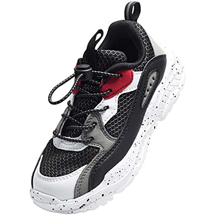 Girls GlitterSneakers Toddlers SparkleFashion Tennis Breathable Running Shoes (Toddler/Little Kids/Big Kids)