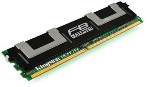 KINGSTON ValueRAM Server/Workstation KVR667D2D8F5/1G 1GB 667MHz DDR2 ECC Fully Buffered CL5 DIMM Dual Rank - Pro Ddr2 667 Fully Buffered