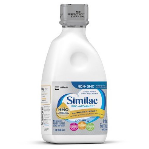 Similac Pro-advance Non-GMO baby formula - ready to feed - 32 ounce - 6 pk -  64248_case