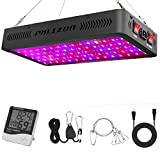 Phlizon Newest 900W LED Plant Grow Light,with Thermometer Humidity Monitor,with Adjustable Rope,Full Spectrum Double Switch Plant Light for Indoor Plants Veg and Flower- 900W(10W LEDs 90Pcs) Review