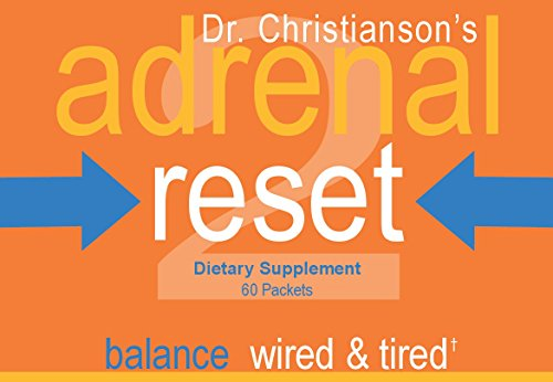 Adrenal Health Pack - Correct Wired & Tired for Weight Loss on The Adrenal Reset Diet - 60 count by Dr Christianson