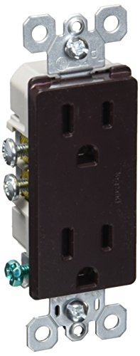 Legrand - Pass & Seymour 885TR Pass and Seymour Tamper Resistant Decorator Receptacle (Brown Electric Inc)