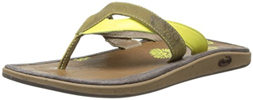 Chaco Womens Leather Flip Sandal - 8