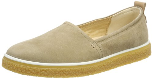 ECCO Womens Crepetray Slip On Loafer Navajo Brown lsQ2KeFcL3