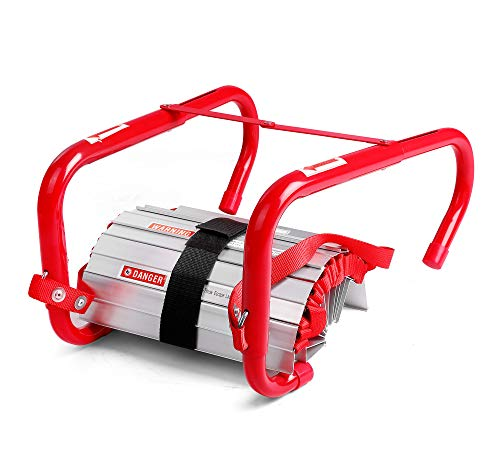 Three-Story Fire Emergency Escape Ladder, 25 Foot