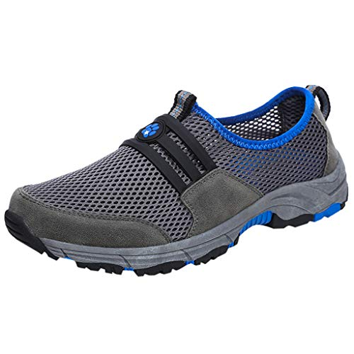 Price comparison product image Royallove Men's Outdoor Sports Hiking Shoes Climbing Summer Spring Sneakers Athletic Trekking Walking Breathable