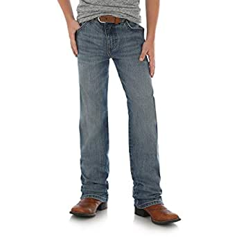 Wrangler Boys' Retro Slim Fit Straight Leg Jean, Callahan, 5 Slim