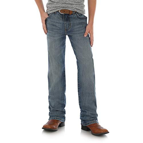 Wrangler Boys' Retro Slim Fit Straight Leg Jean, Callahan, 6 Reg -