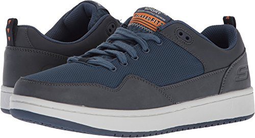 Skechers Men's Tedder Fashion Sneakers Navy 10.5 D(M) US