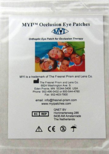 MYI Occlusion Eye Patches - Boys #2, Regular Size (51 Per Package)