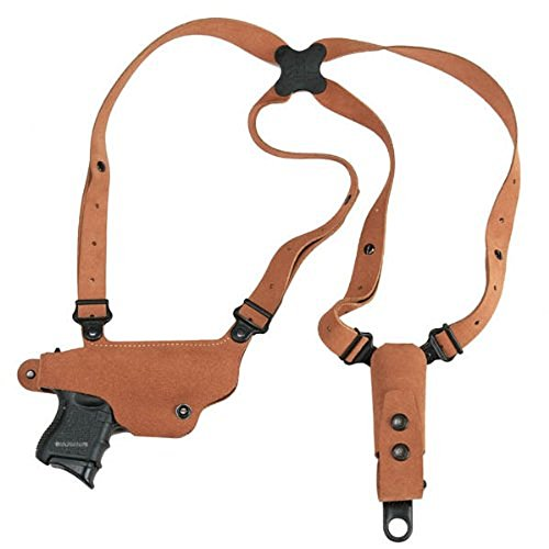 Galco Classic Lite Shoulder System for S&W J FR 60 2 1/8 .357 .38 (Natural, Right-Hand)