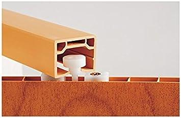 Faltt/ür Schiebet/ür Kunststofft/ür Sonoma Eiche hell farben mit Schlo/ß//Verriegelung Fenster H/öhe 202 cm Einbaubreite bis 94 cm Doppelwandprofil Neu
