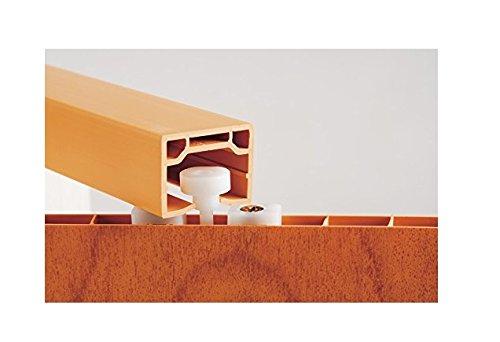 Faltt/ür Schiebet/ür T/ür buche farben H/öhe 202 cm Einbaubreite bis 109 cm Doppelwandprofil Neu TOP-Qualit/ät