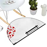 Best Better Homes & Gardens Outdoor Benches - Tree Semicircular Cushion Tree with Heart Shaped Leaves Review