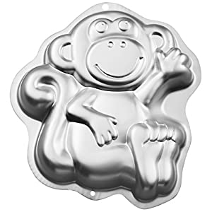 Wilton Monkey Cake Pan, Kids 3D Birthday Cake Pan