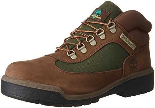 Timberland Men's Field Boot F/L Waterproof Chocolate Old River Nubuck 7.5 D US