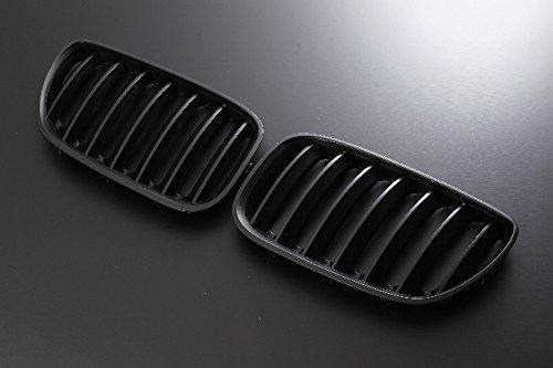Import(インポート) キドニーグリル BMW X5 E53 04-06 マットブラック B00STHTGW4