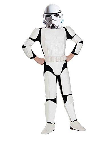 Rubies Star Wars Rebels Deluxe Imperial Stormtrooper Costume, Child Medium -