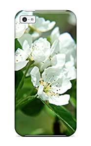 New Style UptonHolliss Spring Tree Nature Flower Premium Tpu Cover Case For Iphone 5c