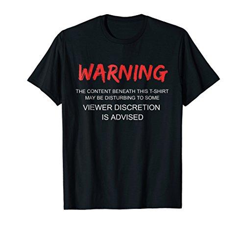 (Viewer Discretion Advised Tee)