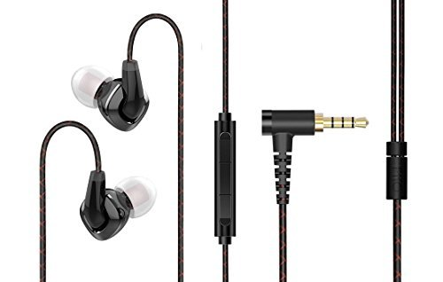 FiiO F3 Dynamic Graphene Driver In-Ear Monitor Earphones with Mic by Fiio