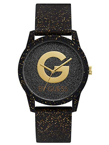 G by GUESS Women's Glitter Black Analog Watch