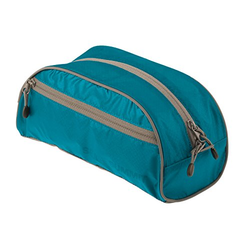 Sea To Summit Travelling Light Toiletry Bag - Pacific Blue - Summit Shopping
