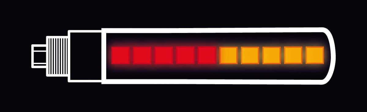 Lampa 90235 Juego Trasero Intermitente Multifunci/ón con LED