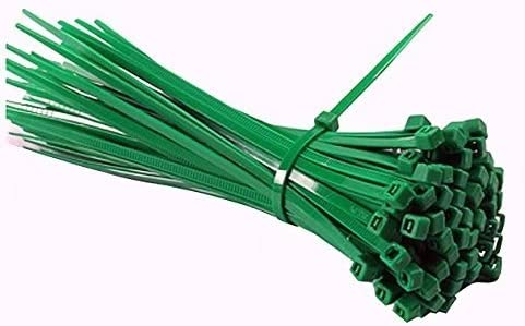 choisir officiel clair et distinctif obtenir pas cher 200 colliers nylon 2.5 x 100 mm Vert