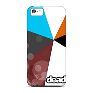 Durable Deadmau5 Colourful Back Cases/covers For Iphone 5c