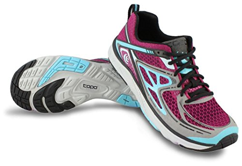 (Topo Athletic Tribute Running Shoe - Women's Magenta/Blue 7.5)