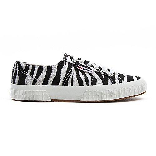 Superga - Zapatillas de Deporte Mujer Blanco - Zebra