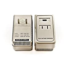 Simran 1875 Watts International Travel Voltage Converter For 110V USA Products In 220V/240V Countries ~ Ideal for Hair Dryers, Phone, iPod, Camera Chargers and Shavers Etc. Model SM-1875
